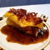 Omelette, Toast, Iberico ham