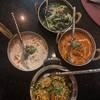 chicken briyani, palak paneer, chicken butter masala