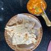 fish masala & butter naan