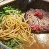 Thick char siu Miso Ramen : เส้นเหนียว นุ่ม เด้ง น้ำซุปหอม หวาน ทานได้เรื่อยๆ ดี