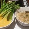 Truffle Mac & Cheese & Green Asparagus