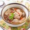 ซุปไก่เยื่อไผ่ตุ๋นยาจีน