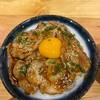 ข้าวหน้าหมูย่างซอสเกาหลี