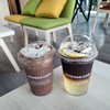 Iced Dark Chocolate, Americano Lemonade