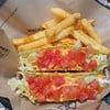 Double Taco supreme + fried (199+10 บาท)