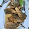 ปลากระพงทอดน้ำปลา