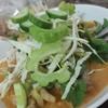 สั่งขนมจีนร้ำยาป่า + กะทิมา รสชาดดีมากค่ะ เข้มข้น สะอาด และไม่หวงผักเลย