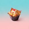 Raspberry Vanilla Cream Cruffin