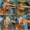 เนื้อทานกับโชยุหวานอร่อยดีมาก