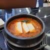 ซุปกิมจิมาแบบหม้ออบร้อน ผักมาเต็ม