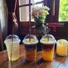 Jusmine Green Tea, Vela Passion Coffee, Orange Coffee