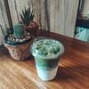 matcha Latte นุ่มค่ะ ให้ความชาเขียว แต่ติดหวานไปหน่อยค่ะ เพราะสั่งหวานน้อย