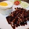 ข้าวหมูเทอริยากิ+ไข่ดาว