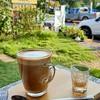กาแฟเข้มข้นและหอมมาก นมที่ใส่กลมกล่อม ความหวานละมุนจากน้ำตาลมะพร้าว