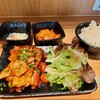 หมูย่าง + ข้าวญี่ปุ่น + กิมจิ ราคา 198 บาท / ไข่ออนเซ็น ราคา 28 บาท