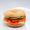 Salmon & Brie Cheese Bagel