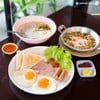 (ราคา 50 บาท) American Breakfast ราคาเบา ๆ กินง่าย อยู่ท้อง