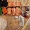 ซูชิปูอัดหอมมาก หอมปูอัด ปูอัดเนื้อแน่นนุ่ม, ขิงดองครบรส, วาซาบิแซ่บมากสดมาก ชอบ