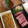 Uni Box + Otoro Sashimi ในเซท พร้อม Ikura และอื่นๆ