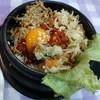 อาหารจานเดียว รสชาติดีมาก ต้องลองเลยค่ะ สั่งข้าวยำเกาหลีไก่รสแซบ