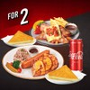 เซตอิ่ม 2-3 คน ไก่ย่างฮิบาชิและไส้กรอกหมู ฟรี ไก่ย่างเซาท์เวสต์และโค้ก 325 มล