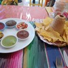 ฟรี กลับแกล้ม แผ่น Tortilla ทอดกรอบ พร้อมดิป salsa