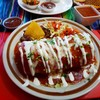 ใส่เนื้อหมูหมัก ขอ Extra Enchiladas sauce พนักงานก็จัดให้ เมนูนี้ทอดทั้งอัน ไส้แ