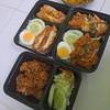 ข้าวแกงเขียวหวานไก่กรอบ ไก่ทอดเกาหลี อร่อยมากๆค่ะ ให้เยอะด้วย