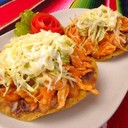 My favourite, tinga tostadas, on the must try at Tacos & Salsa