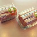 แซนวิชแฮมชีส+ทูน่าไข่กุ้ง