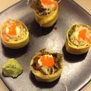 Omu Salad Maki 99฿