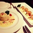Lobster Mousse & Sautee Scallops