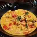 durian red curry chicken
