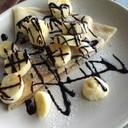 เครปเย็นกล้วยช็อคโกแลต