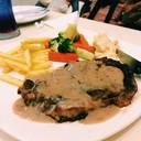 สเต็กเนื้อออสเตรเลียพริกไทยดำ