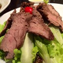 Grilled Beef w/ Jaew Dressing salad