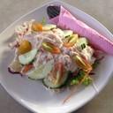 สลัดผักทูน่า