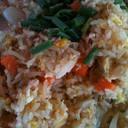 ข้าวผัดปูจานเล็กแต่กินได้ 3คน ดูแฉะนิดนึง แต่มีเนื้อปูเต็มๆ