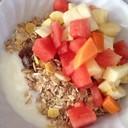 Fruit Yoghurt with Muesli