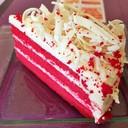 สั่งเค้กมาทานค่ะ เป็นวัลเวทเค้กเนื้อนุ่ม หอม