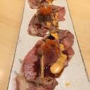 Wagyu Slice Sushi (170฿)