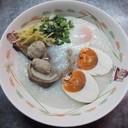 โจ๊กไข่รวมมิตร(ไข่เค็ม, ไข่เยี่ยมม้า) 45 บาท