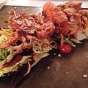 Deep Fried Soft-Shell Crab Salad
