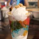 ไอศกรีมกะทิสดทรงเครื่อง (15 บาท)
