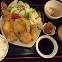 Seafood mix fried srt