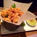 Chili-crusted CALAMARI (230฿)🐙🐙