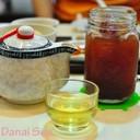 เก็กฮวยร้อนเป็นกา(60บาท)& Iced Rose Vanilla Earl Grey Tea (60บาท)