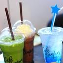 Iced Green Tea, Iced Chocolate, Iced Italian Soda