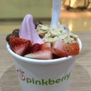 Frozen Yogurt (Pomeganate + Chocolate Hazelnut)