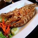 ปลาเนื้อ่อนทอดกระเทียม